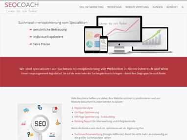 Suchmaschinenoptimierung Niederösterreich Portfolio