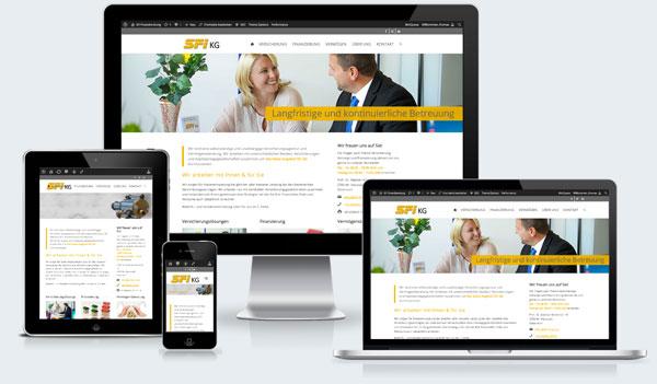 Mobile Webdesign für Finanzberater in Wiener Neustadt, Niederösterreich