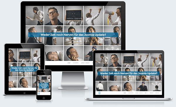 Responsive Webdesign für IT Dienstleister in Bezirk Baden