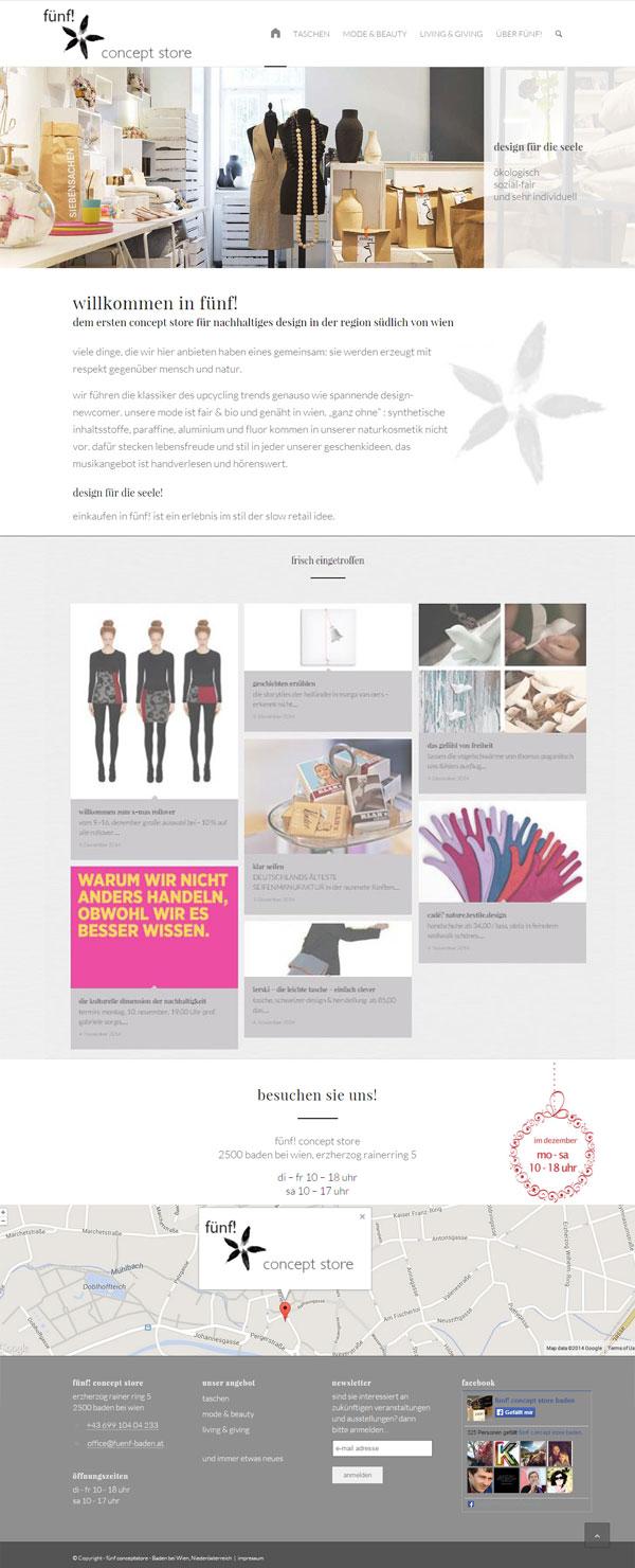 Webdesign Referenz Shop Fuenf Baden