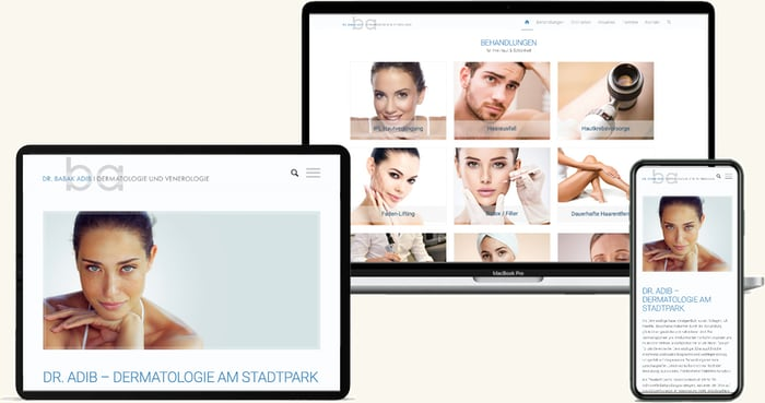 Dr. Adib Wien  Arzt Website