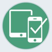 Meldung: für Mobilgeräte optimiert