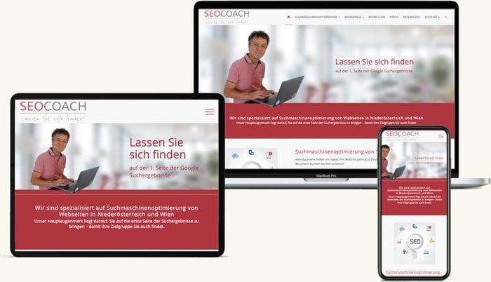 SEO Coach Website Erstellen Niederösterreich