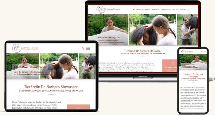 Dr. Stowasser Tierarzt Homepage Erstellen Wien