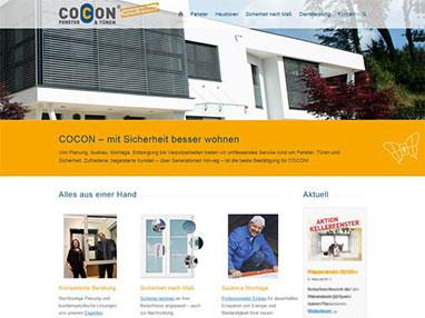 Web design COCON Niederösterreich Wien