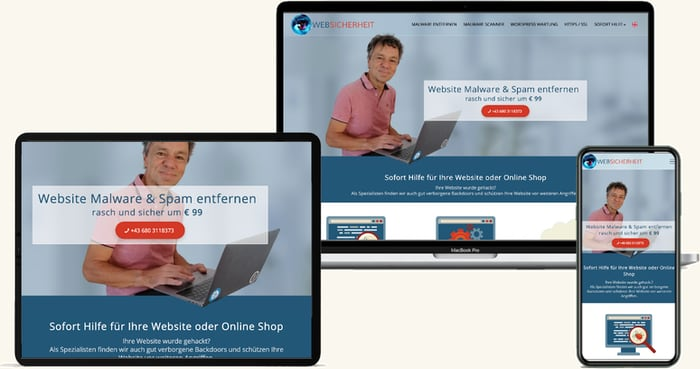 Websicherheit Webdesign Optimierung