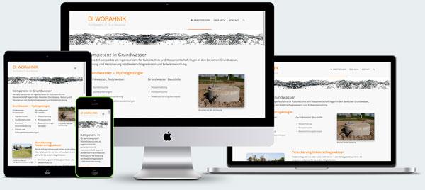 Responsive Webdesign - IB Worahnik - Bezirk Baden