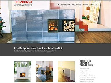 Responsiv Webdesign - Künstler Designer Niederösterreich