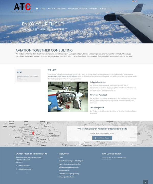Webdesign - Wiener Neustadt - ATC - CAMO