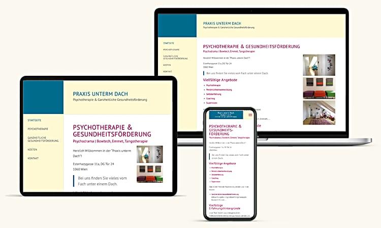 Psychotherapie Wien Homepage Erstellen Lassen