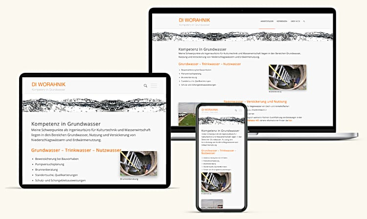Wohranik Wasser Website Enzesfeld Lindabrunn