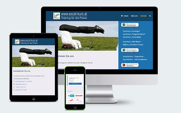 Webdesign Wien für Bambus - Darstellung auf allen Bildschirmgrößen