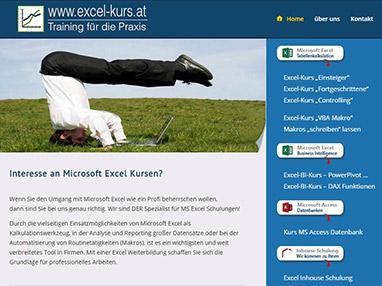 Webdesign für Kursanbieter in Wien