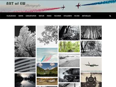 responsive Webdesign für Art of EW - Wiener Neustadt