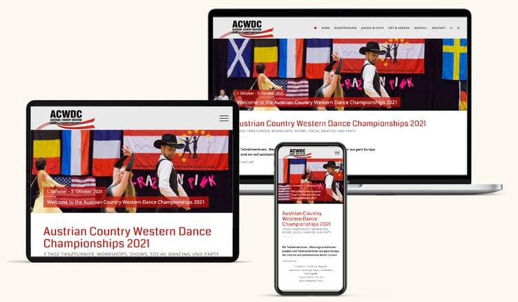 Den Neuen Webseiten Fuer Tanzmeisterschaft
