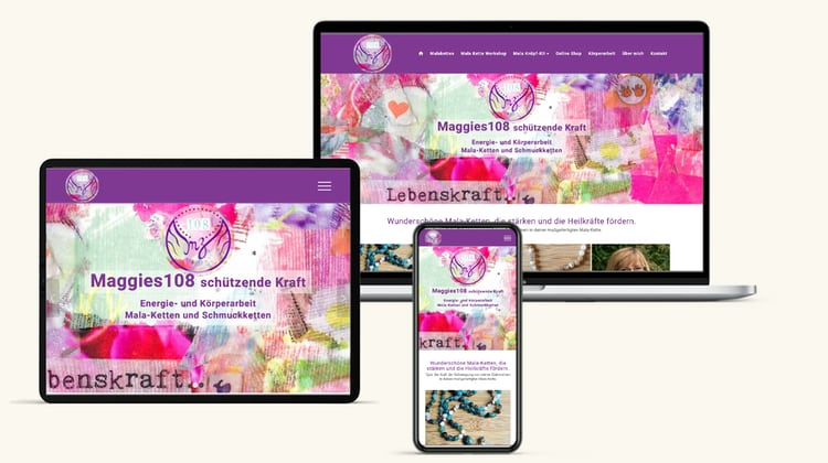 Maggies 108 Homepage Erstellen Wien