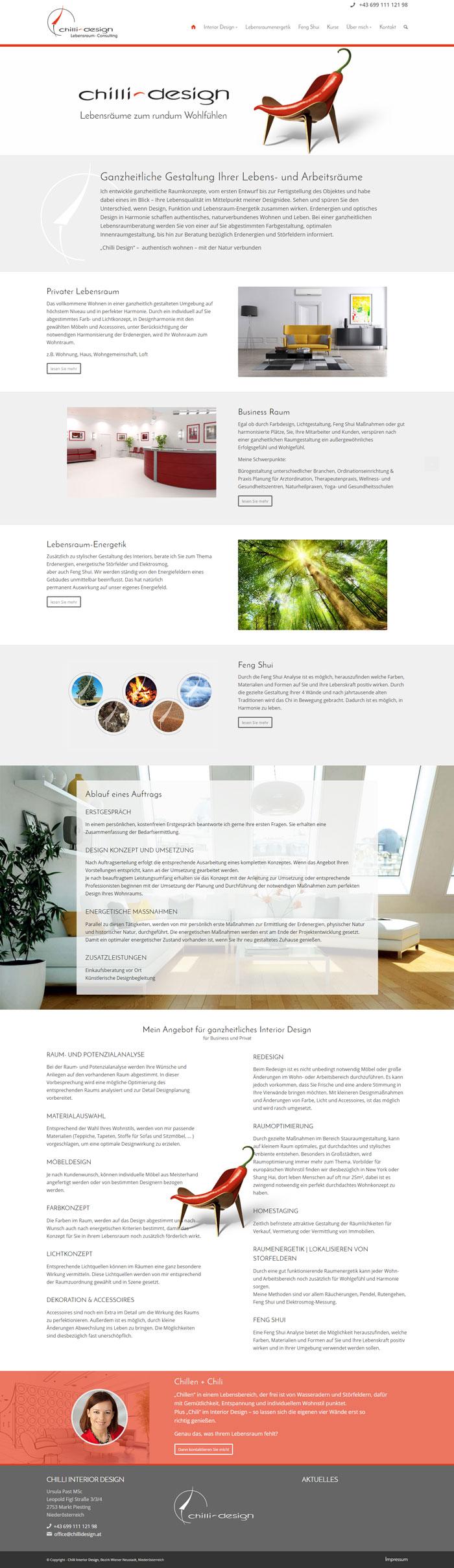 Webdesign Chilli
