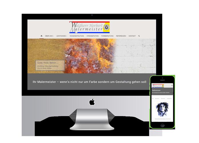 Homepage Malermeister Waldherr - Wien
