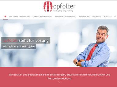 Webdesign für Berater