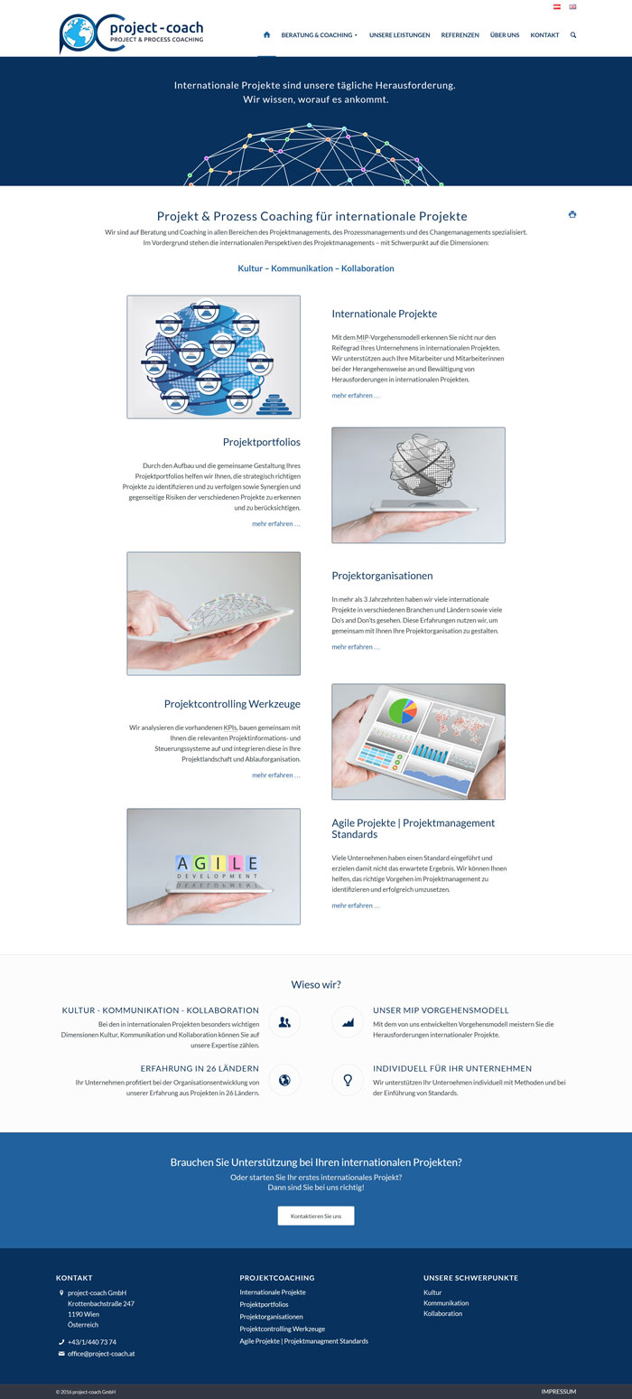 Webdesign Berater Homepage