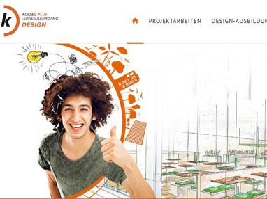 Homepage erstellen - Design Kolleg