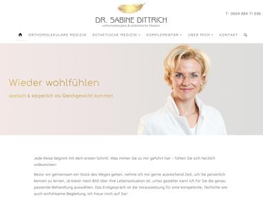 Homepage praktische Ärztin