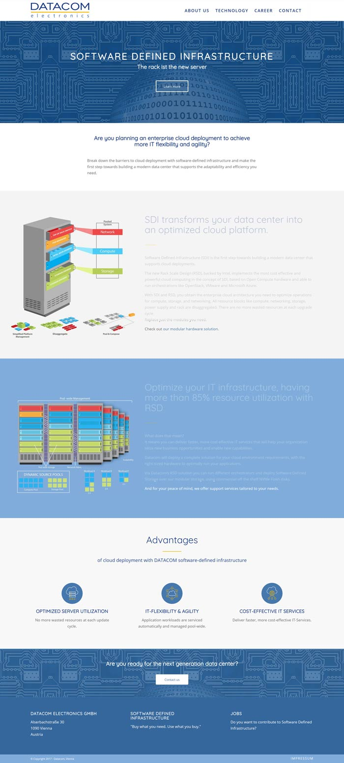Webdesign Wien - Datacom