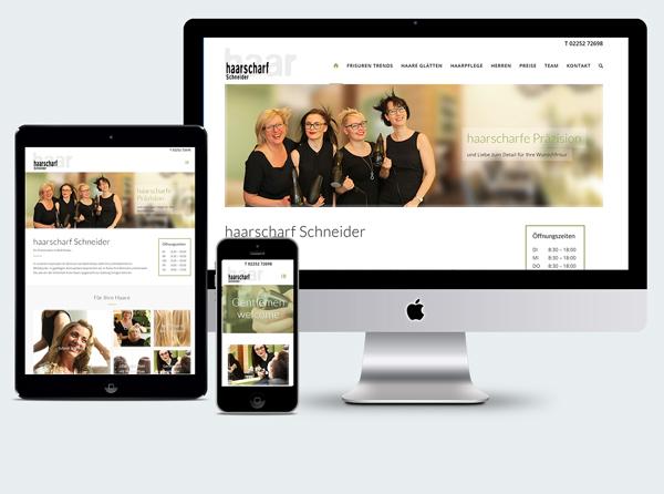Homepage Friseur