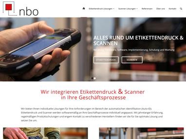 Homepage Referenz IT Unternehmen NBO