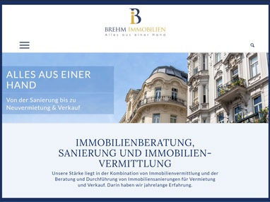 Homepage Immobilien