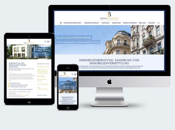 Homepage Wien Immobilien