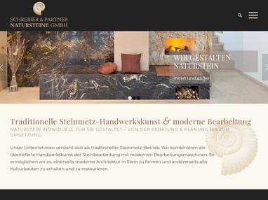 Homepage Steinmetz Schreiber & Partner Natursteine