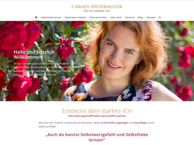 Webdesign Selbstwert Coach - Wien & Linz