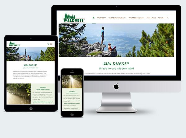Homepage für Tourismus Projekt