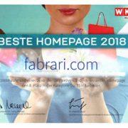 Beste Homepage 2018 - Preisverleihung