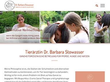 Homepage Tierärztin