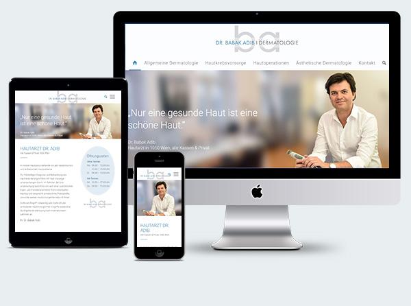Homepage Arzt Wien