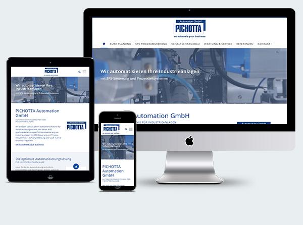 Homepage Pichotta Baden
