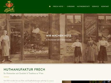 Homepage Hutmacher Frech - Wien