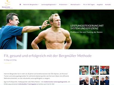 Homepage Prof. Bergmüller
