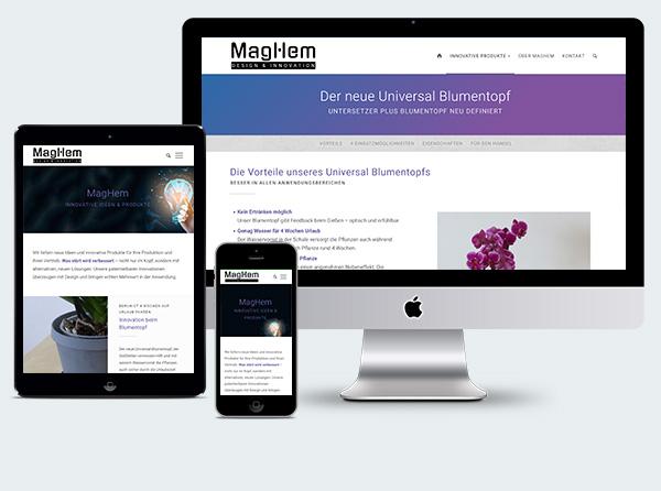 Homepage Erfinder Maghem