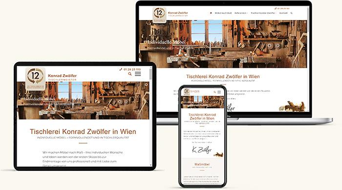 Tischler Homepage Nach Mass