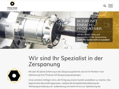 Homepageerstellung Handel