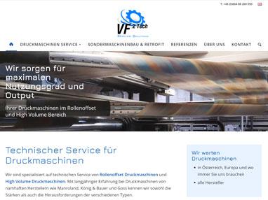 Homepageerstellung Technik Unternehmen Bad Vöslau