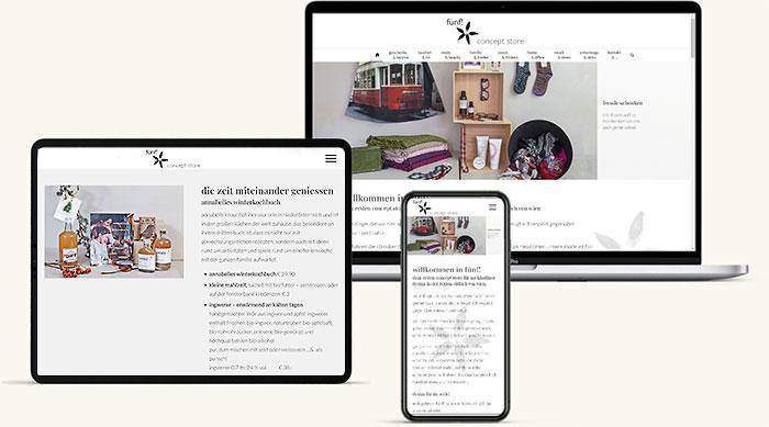 Website Shop Baden