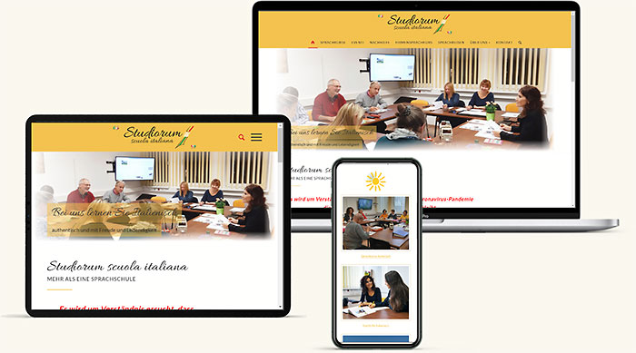 Homepage Sprachschule Wr. Neudorf