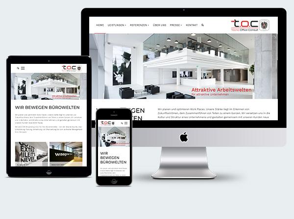 Empfehlung Webdesign