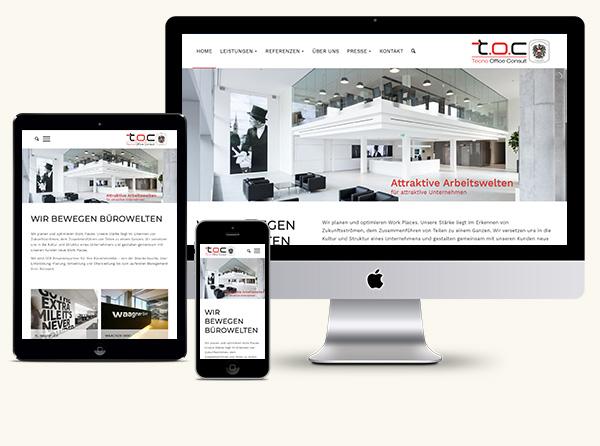 Homepage Tecno Wien