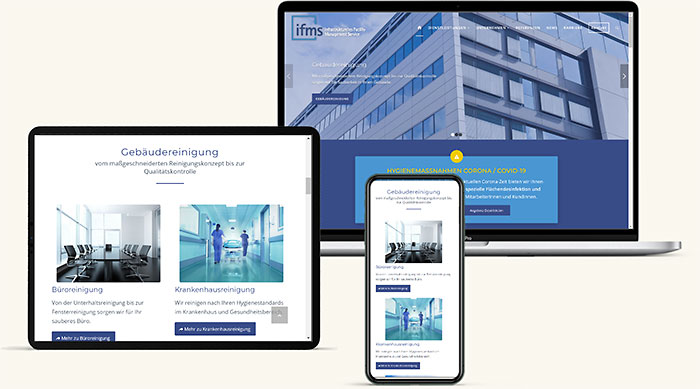 Relaunch Homepage IFMS Wien