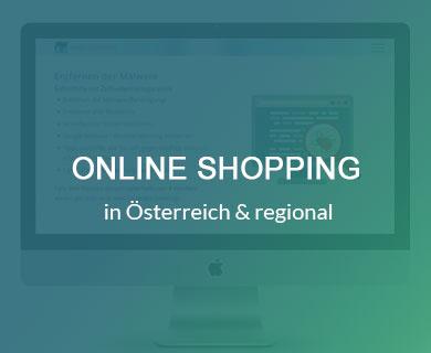 online shopping in Österreich & regional